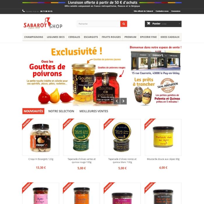 Site internet : Boutique en ligne, e-commerce